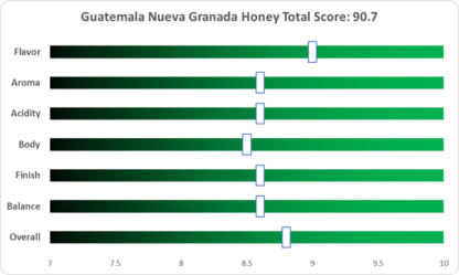 Guatemala Nueva Granada Honey Geisha Green Coffee